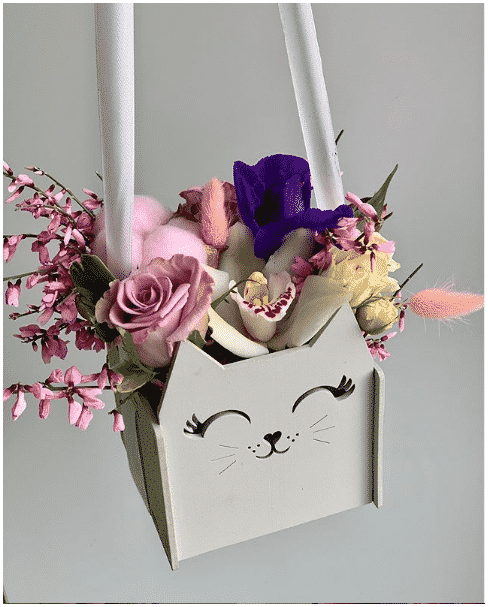 Blommor i tralada