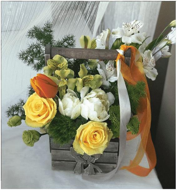 Blommor i tralada7