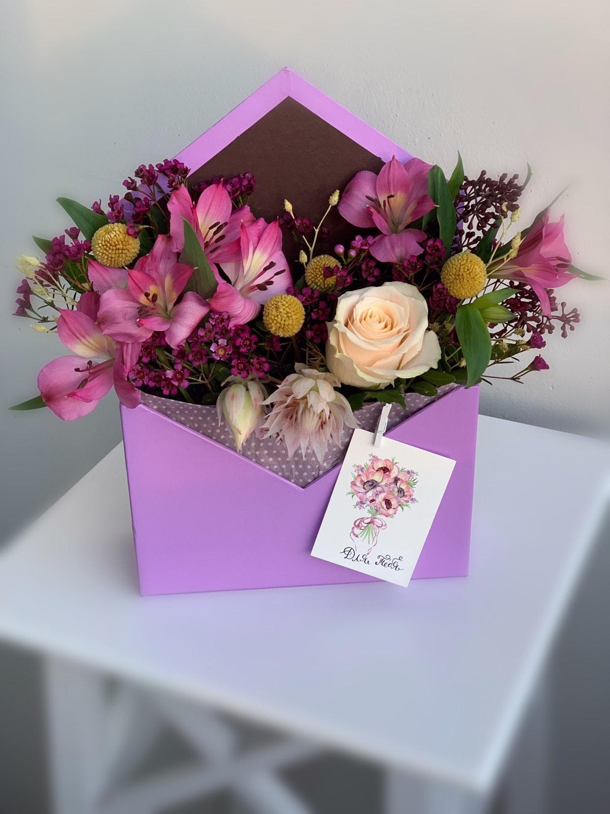 Blommiga Kuvert